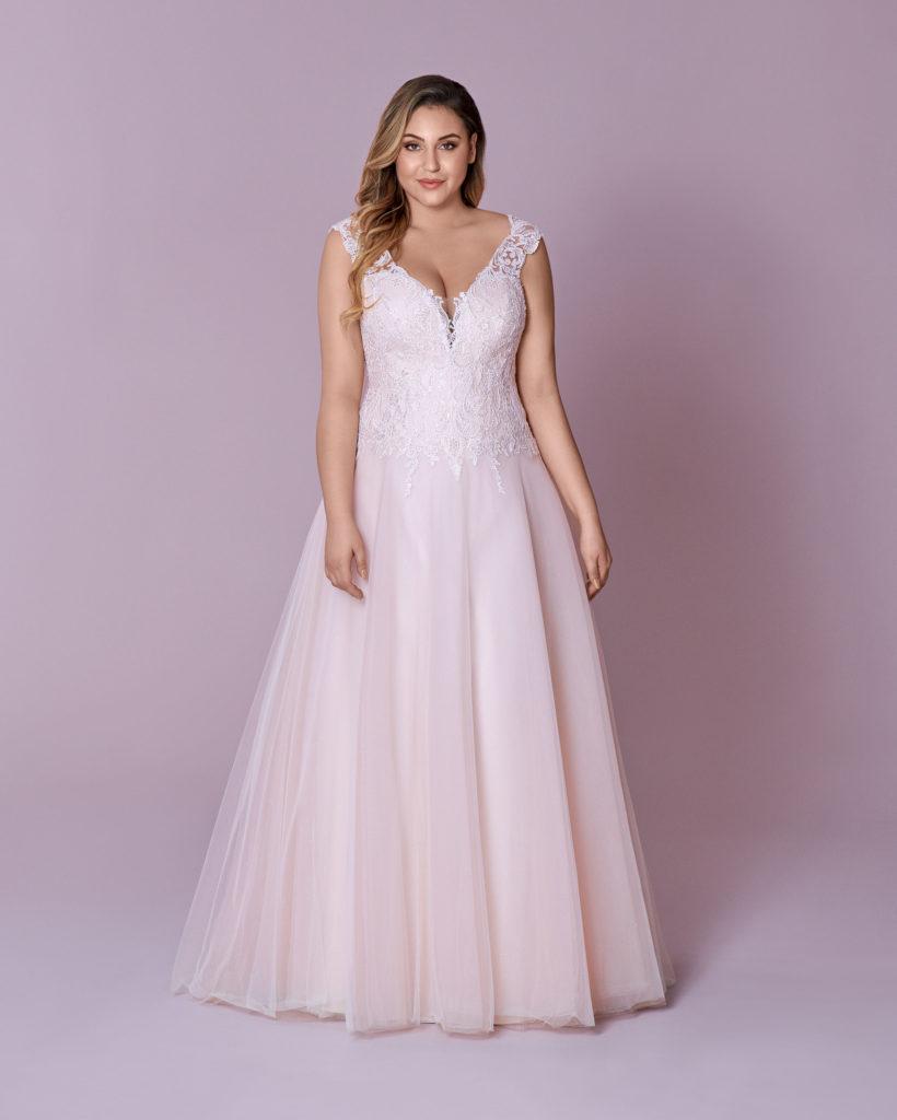 Suknia ślubna przedłużony gorset Elizabeth Passion model 132T