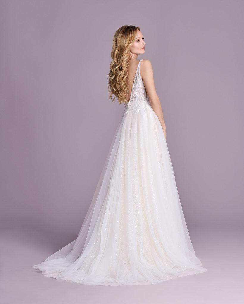 Suknia ślubna księniczka Elizabeth Passion model 4414T BACK