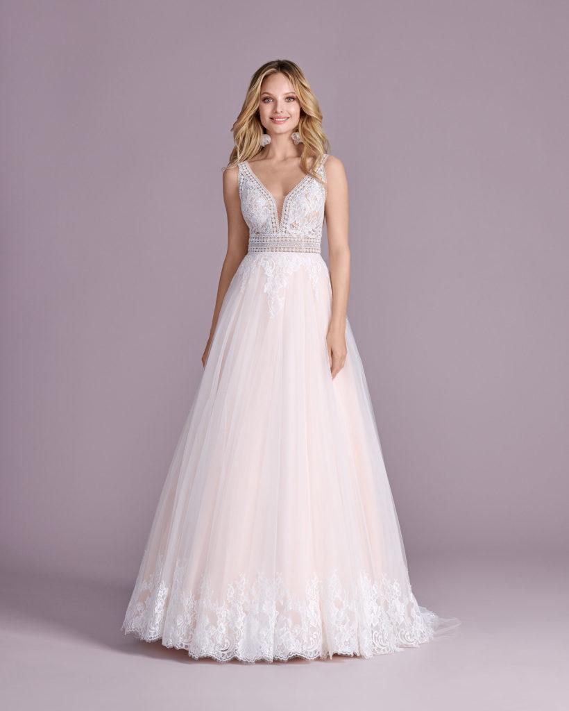 Suknia ślubna folkowa Elizabeth Passion model 4460T