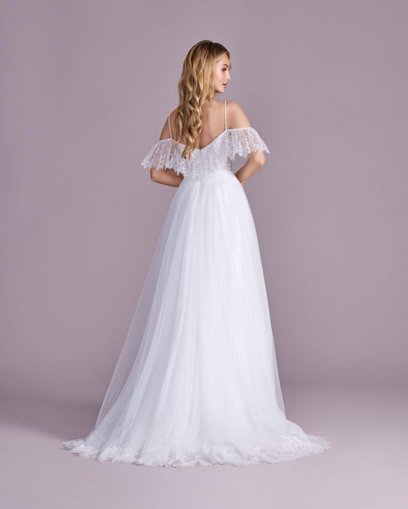 Suknia ślubna literka A Elizabeth Passion model 4497T BACK