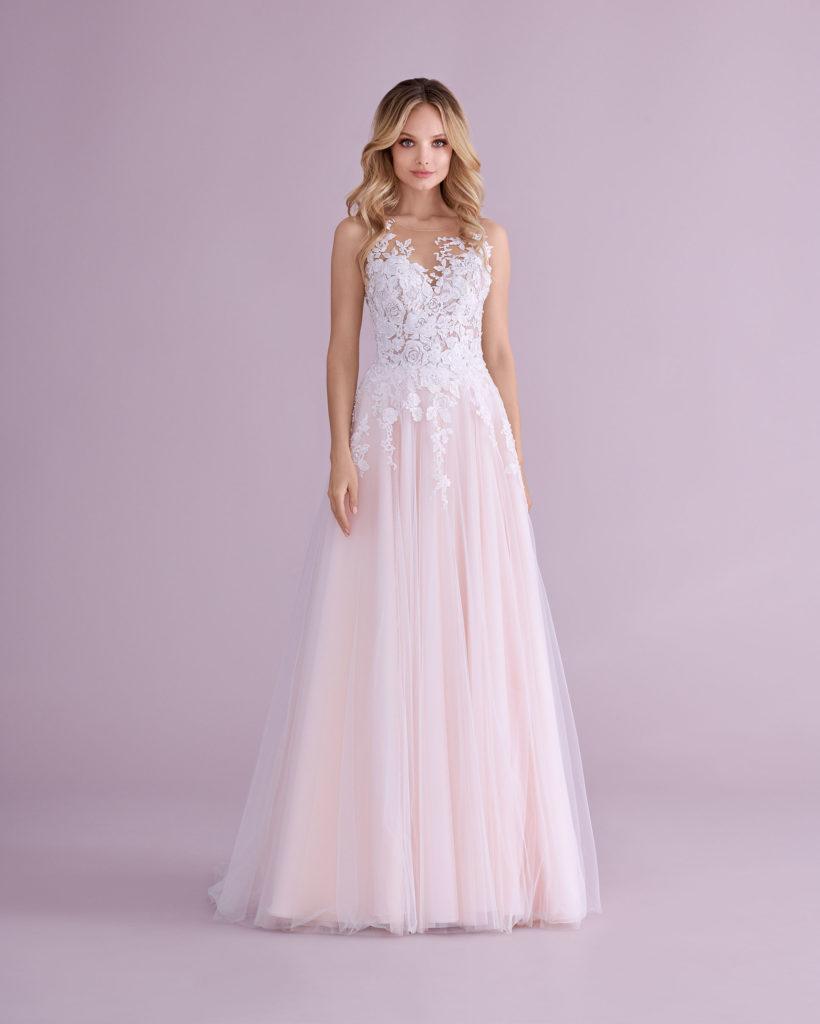 Suknia ślubna różowa Elizabeth Passion model 4565T