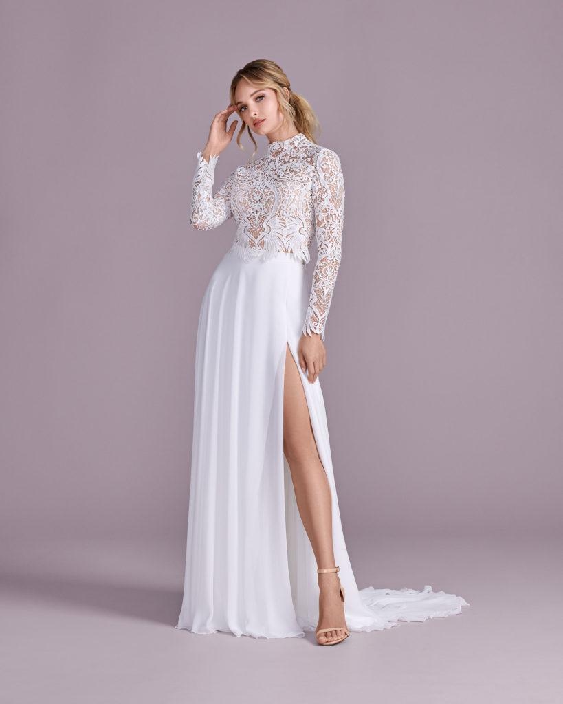Suknia ślubna dwuczęściowa Elizabeth Passion model 4598T